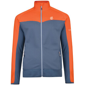 Dare 2b Riform Core Stretch Jacket Men Meteor Grey/Blaze Orange